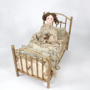 19th Century French Automata Sleeping Doll