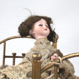 19th Century French Automata Sleeping Doll