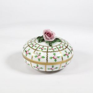 Herend Porcelain Lidded Bowl