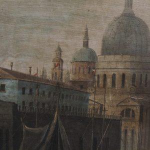 E. Ponthier Venice Oil on Canvas