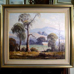 "Australian School Leon Hanson 1921 ""The Farm, Dandenongs"""