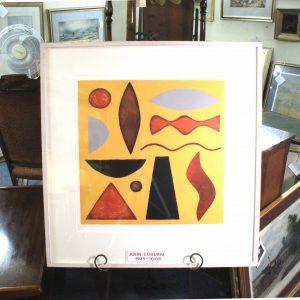 """John Coburn 1925-2006 """"Jazz I"""""""
