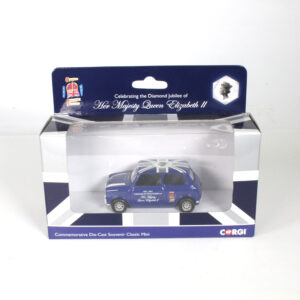 Corgi Diamond Jubilee Queen Elizabeth 2 Mini Minor