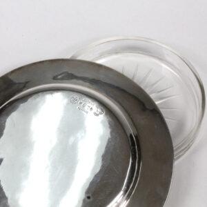 Georg Jensen Sterling Silver Butter Dish