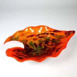 Murano Orange Tones Tutti Frutti Bowl