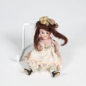German Bisque Dolls House Doll