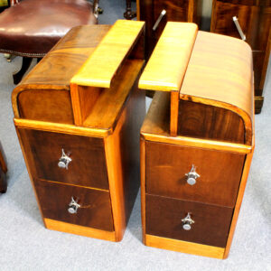 Art Deco/mid century pair of Bedside Tables