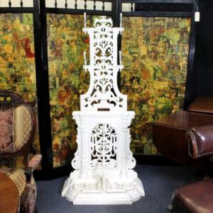 Victorian Cast Iron Hat Stand